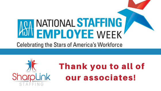 Staffing Employee Week