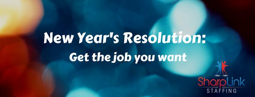 New Year, New Job | Sharplink Staffing